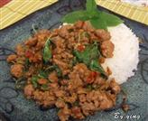 Stir Fried Pork with Holy Basil