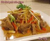 Stir Fried Pork with Ginger
